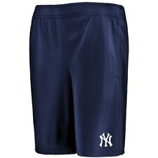 New York Yankees Under Armour Youth MK-1 Performance Shorts - Navy