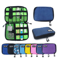 Portable Cable Storage Bag Travel Digital Electronic Accessories Organizer Bag