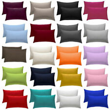 1 X Pillow Case Luxury Fine Poly cotton Housewife Single Pack Pillows Cover Case