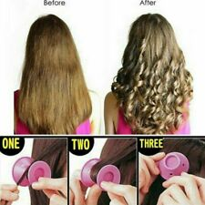 DIY Magic Silicone Hair Curlers Rollers No Clip Formers Styling Curling Tool USA