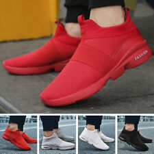 Mens Running Shoes Fashion Sports Sneakers Flyknit Casual Breathable Athletic