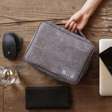 Travel Storage Bag Electronics USB Charger Case Data Cable Waterproof Organizer@