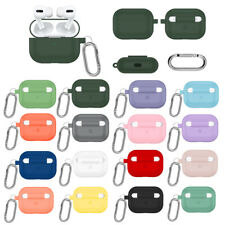 For Apple AirPods Pro Earphone Case Ultra Thin Silicone Protective Cover Skin US