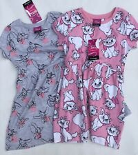 Baby / Girls Pink Dress with Disney Cat or Grey with Dumbo  detail