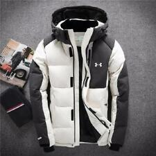New Under Armour Men's Winter Warm Thick Duck Down Jacket Snow Hooded Coat Parka