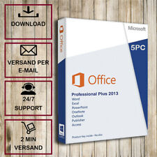 >>Office 2013 Professional Plus (PP) - 1-5PC  - 32&64Bits - Versand per E-Mail<<