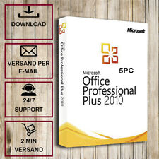 >>Office 2010 Professional Plus (PP) - 1-5PC  - 32&64Bits - Versand per E-Mail<<