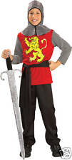 RENAISSANCE MEDIEVAL LORD CHILD FANCY DRESS COSTUME ALL SIZES