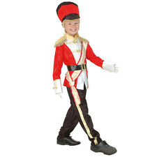 TOY SOLDIER CHILD COSTUME FANCY DRESS SMALL / MEDIUM / LARGE