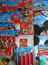 MICKEY MOUSE CLUBHOUSE Birthday Party Range (Amscan) (Tableware & Decorations)