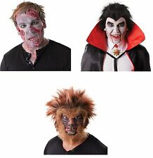 DRACULA ZOMBIE WOLFMAN FANGS AND TEETH WITH THERMOPLASTIC HALLOWEEN FANCY DRESS