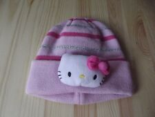 BABY GIRL/KIDS/CHILDS HELLO KITTY WINTER BEANIE HAT 1-6 YEARS