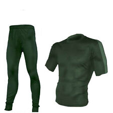HIGHLANDER CLIMATE X 160 BASE LAYER COMBO SIZE S-XXL SHORT SLEEVE GREEN WARM