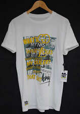"ACTUAL FACT KANYE WEST &  JAY Z WATCH THE THRONE ""THE KRAYS"" HIP HOP TEE T SHIRT"