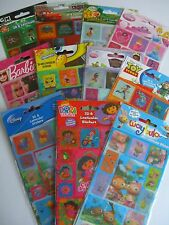 CHARACTER 3D & Lenticular (Moving) STICKERS - 14 Design Range (Disney/Moshi +..)