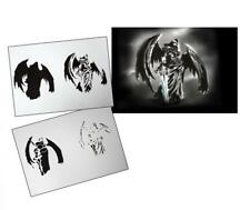 Step by Step Airbrush Schablone AS-106 ~ Tattoo Stencil ~ UMR-Design