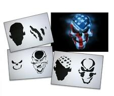 Step by Step Airbrush Schablone AS-062 ~ Tattoo Stencil ~ UMR-Design