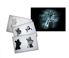 Step by Step Airbrush Schablone AS-080 ~ Tattoo Stencil ~ UMR-Design