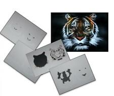 Step by Step Airbrush Schablone AS-033 ~ Tattoo Stencil ~ UMR-Design