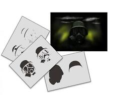 Step by Step Airbrush Schablone AS-174 ~ Tattoo Stencil ~ UMR-Design