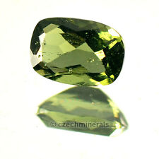 0.449cts rectangle cushion 4x6mm moldavite faceted cutted gem BRUS632