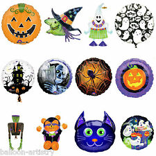 Haunted Halloween Horror Foil Supershape Round Balloon Balloons All In 1 Listing
