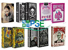 BICYCLE PLAYING CARDS FAVOLE ZOMBIE SKULL TATTOO MAGIC TRICKS AIR CUSHION FINISH