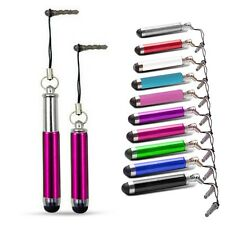 RETRACTABLE TOUCH STYLUS PEN HOT PINK FOR VARIOUS MOBILE PHONES
