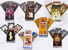 TAROT CARDS DECKS FOURNIER FAVOLE LABYRINTH ANNE STOKES ALCHEMY I CHING ANGELS