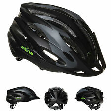 NEW ARINA QUEST CYCLE HELMET - ADULT BLACK GREY - ROAD MTB BICYCLE CYCLING BIKE