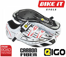EIGO SIGMA ROAD CYCLING SHOES CARBON FIBRE SOLE RACING SHOES