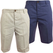 Mens Chino Shorts FCUK Chinos Pants Salt or Laundry Blue 30 32 34 36