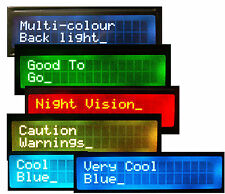 I2C or Serial Mulit Colour RGB backlight 16x2 LCD, Raspberry Pi, Arduino