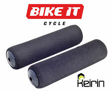 NEW FOAM CYCLE HANDLEBAR GRIPS - MOUNTAIN BIKE MTB BICYCLE - WITH BAR END PLUGS