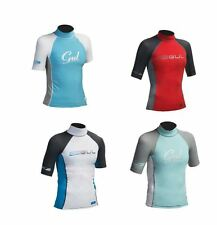GUL CHILDS GIRLS BOYS WETSUIT RASH VEST RASH GUARD UV 50+ SWIMMING TOP TSHIRT