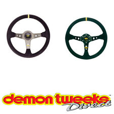 OMP Corsica Race/Rally/Saloon/Competition Steering Wheel - 95mm Dish