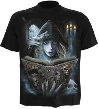 Spiral Book of Flesh T Shirt Tee Top Celtic Fairy Tribal Gothic #3221 621
