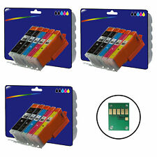 3 Sets of Compatible Printer Ink Cartridges for the Canon 550-551 Range