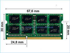 Memory for Laptop DDR3 1066MHZ PC8500 1GB 2GB SODIMM