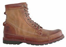 Timberland Ek Original 6 Inch Burn Leather Wheat Lace Up Mens Boots (5513R D110)