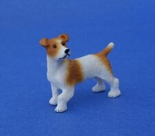 Miniature Dollhouse Jack Russell Terrier Dog 1:12 Scale New