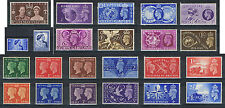 King George VI Commemorative Stamps Mint or Used. Choice of stamps. FREE UK POST