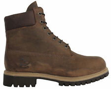 Timberland AF 6 Inch Mens Boys Brown Leather Lace Up Boots (26580 D107)
