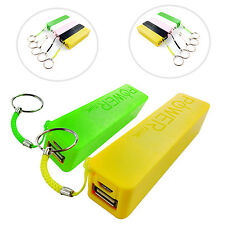 2600 mAh KEY RING POWER BANK EXTERNAL PORTABLE USB FOR SAMSUNG GALAXY YOUNG S631