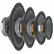 "QTX 8 Ohms Replacement Speaker Drivers 8"" 10"" 12"" 15"" 100w - 250w RMS"