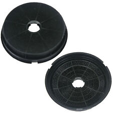 2 x BAUMATIC Oven Cooker Hood Vent Extractor Round Carbon Filters Spare Part