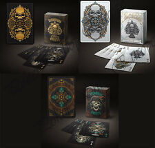 STEAMPUNK BANDITS BICYCLE PLAYING CARDS BLACK WHITE COLOURED RARE COLLECTABLE