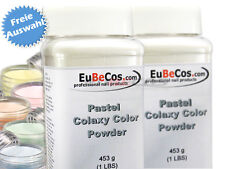 COLAXY Acryl Color Powder Polymers Acrylpuder * Pastell Auswahl 453 g *