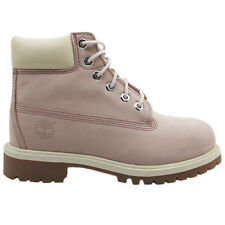 Timberland 6 Inch Prem Kids Boots Youths Juniors Girls Pink Lilac 34792 34992