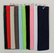 Masters Tri Fold Velour Golf Towel